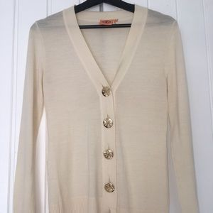 Used Tory Burch Simone Cardigan